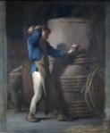 495px-Cooper_Tightening_Staves_on_a_Barrel_by_Jean-François_Millet,_c._1848-52