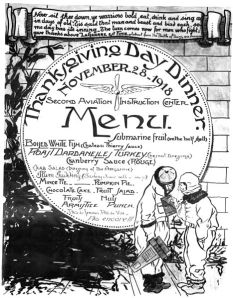 467px-Second_Air_Instructional_Center_-_Thanksgiving_menu_1918