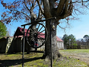 A present day barn on Salacoa Road