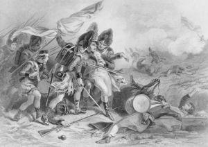 The Death of Sir Edward Pakenhamby Felix Darley (public domain)