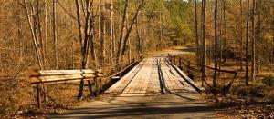 Bridge over Salacoa Creek on Johnson Mountain