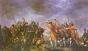 The Battle of Culloden by David Morier