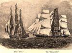 HMS Brisk Intercepting the Manuel, a Slave Ship