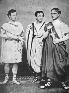 L-R: John, Edwin, & Junius, jr. in Julis Caeser