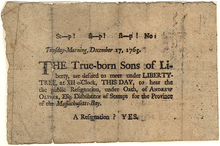 440px-Sons_of_Liberty_Broadside,_1765