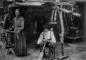 An original Confederado couple