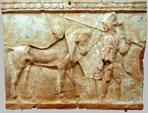 Greek Pinax, Museo Nazionale della Magna Grecia