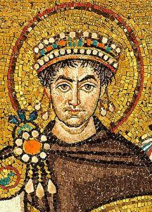 Mosaic of Justinian, Basilica of San Vitale, Ravenna