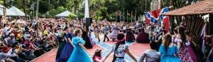 150th Civil War celebration in Americana, Brazil