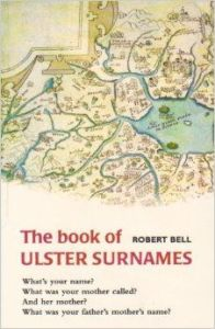 Ulster surnames book