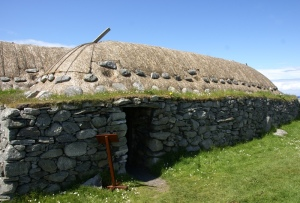 tradtional blackhouse reproduction