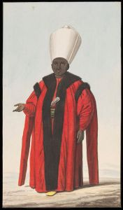 The Chief Black Eunuch,artist unknown 1809