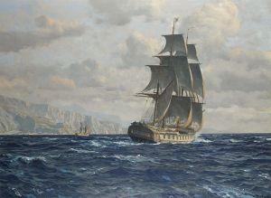 800px-Michael_Zeno_Diemer_-_A_frigate_off_the_coast_near_Rio_de_Janeiro,_Brazil