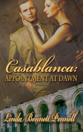 http://amzn.com/B0121Q6S88 http://www.barnesandnoble.com/w/casablanca-linda-bennett-pennell/1122378249?ean=2940150767867 https://store.kobobooks.com/en-US/ebook/casablanca-appointment-at-dawn