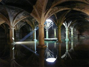 Another view inside the Cistern
