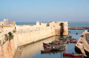 Old Portuguese fortress at El Jadida, Morocco