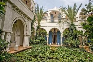 Dar el Malaika courtyard