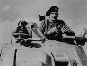 "British Field Marshal Bernard Montgomery, ""Monty"""