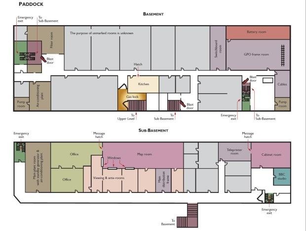 cab war rooms Plan