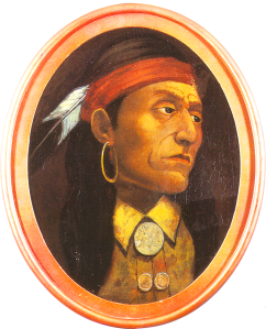 Pontiac, Chief of the Ottawa, Impression by John Mix Stanley (1814-1872)