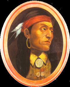 Pontiac, Chief of the Ottawa, Impression by John Mix Stanley (1814-1872)