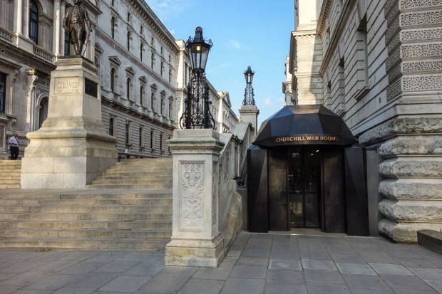 Visitor's Entrance, Cabinet War Rooms