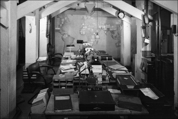 war rooms wwii era map room
