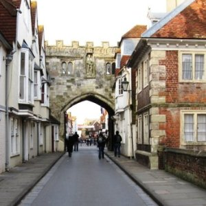 Salisbury Cathedral close gate