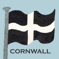 CornishFlagSquareCard