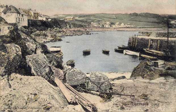 Cornwall, Coverack Quay