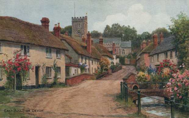 Devon, East Budleigh Village and Church