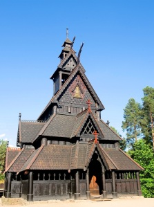Norway Oslo Gol Stave Church at Norsk Folkemuseum Innovation Norway Photo by Anne-Lise Reinsfelt Norsk Folkemuseum VisitNorwayCom