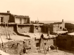 Zuni Pueblo, NM-Edward S. Curtis, 1903-300