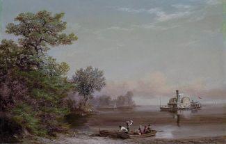 A_South_Carolina_Coast_Scene_by_Xanthus_Smith,_1866
