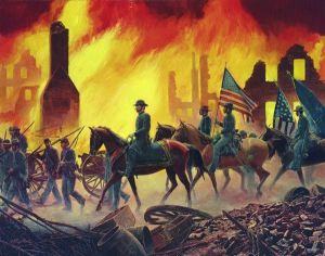burning of Atlanta