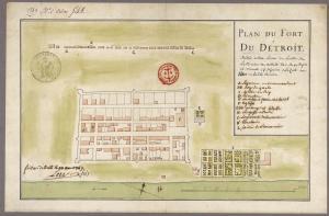 20151229182241!Plan_du_fort_Detroit_-_Gaspard-Joseph_Chaussegros_de_Lery_-_1749