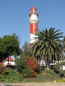 nambia lighthouse