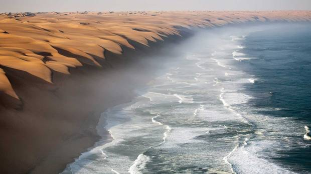 namib meets the sea