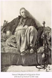 Samuel Shepheard, 1859, oil sketch by Frederick Goodall