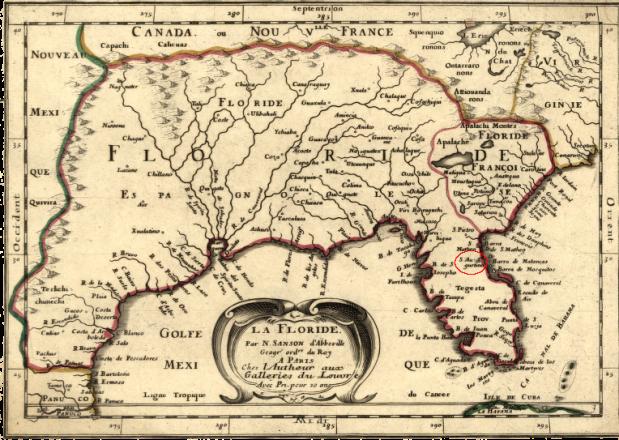 sp lafloride map - large