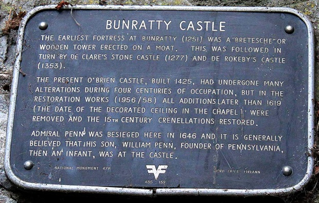 Bunratty_Sign_in_English