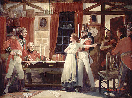 440px-Laura_Secord_warns_Fitzgibbons,_1813