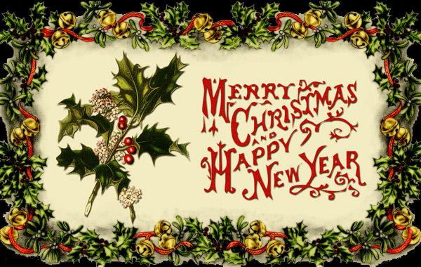 Vintage Christmas Card016