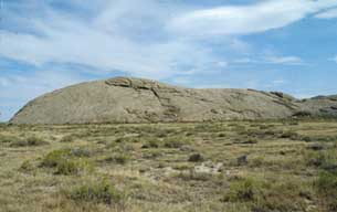 Independence RockPhoto courtesy of Wyoming Division of Tourism