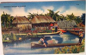 seminole postcard
