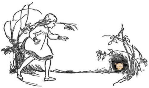 girl-chasing-rabbit-public-domain-flipped